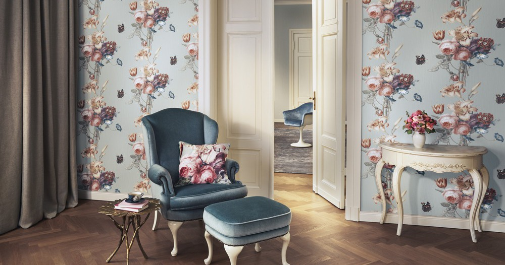 Фотография обоев BARBARA Home Collection Rasch